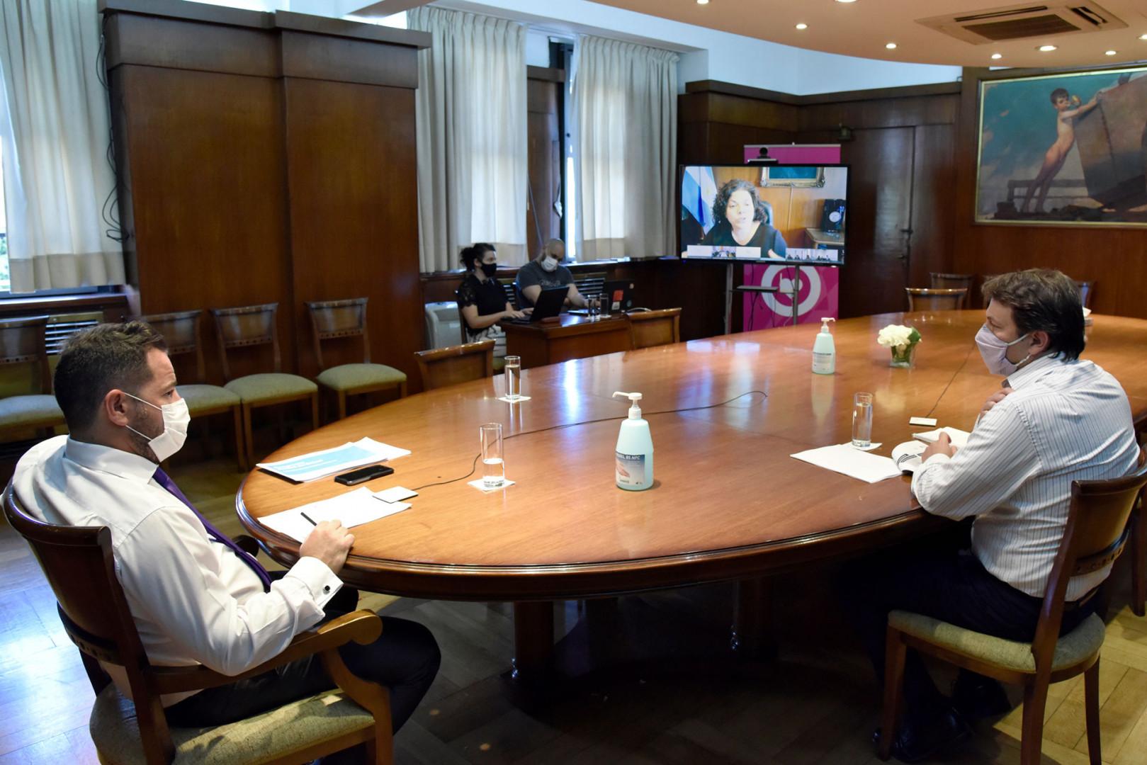 Continúan las reuniones para avanzar en la planificación de vacunación COVID-19