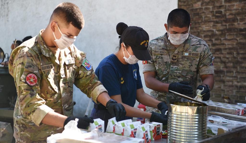La Armada Argentina brinda apoyo a las comunidades de Luján y de ...
