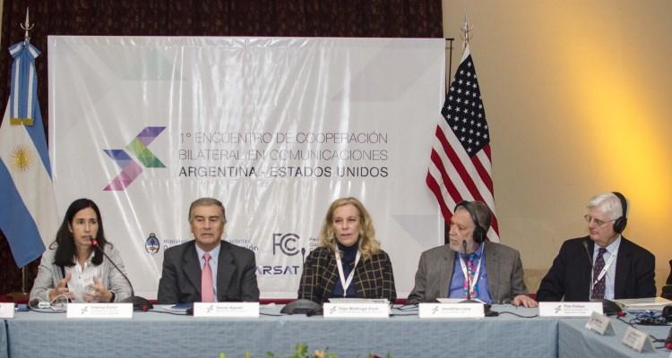 1° encuentro de cooperación bilateral en comunicaciones Argentina-Estados Unidos