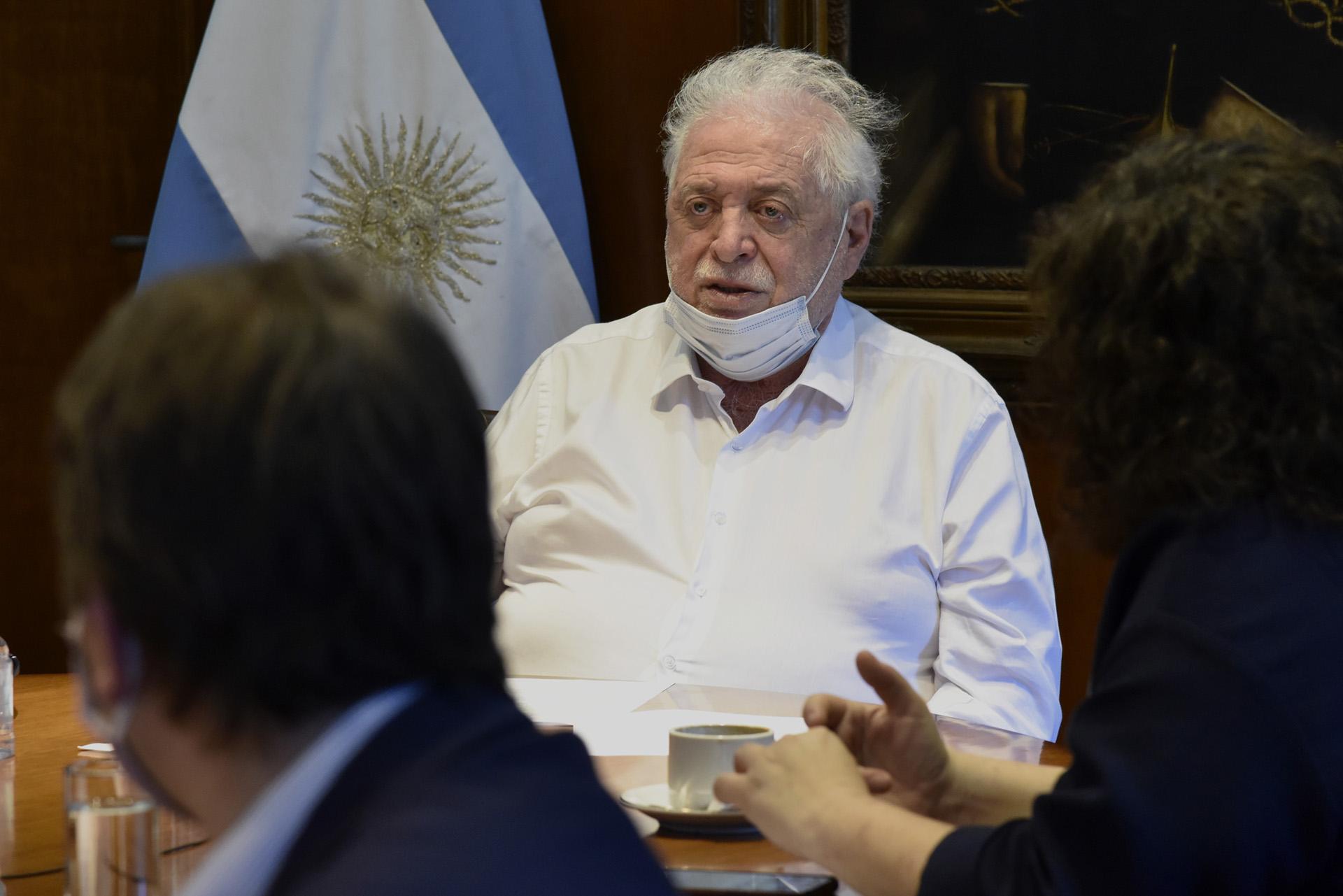 Gonzáles García presidió la reunión con el Consejo Federal de la Salud