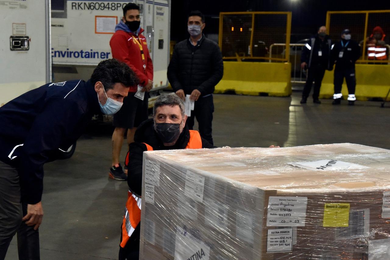 Plan de Vacunación contra el COVID-19: llegan a todas las jurisdicciones  399 mil dosis de AstraZeneca donadas por España | Argentina.gob.ar