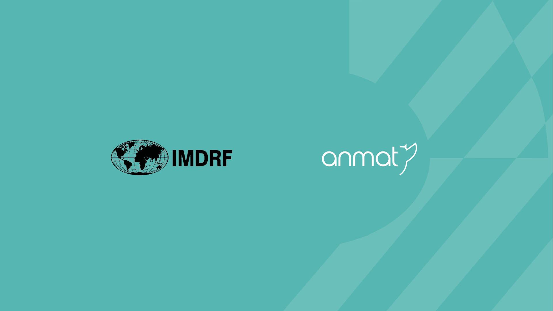 ANMAT se convierte en Observador Oficial de IMDRF | Argentina.gob.ar