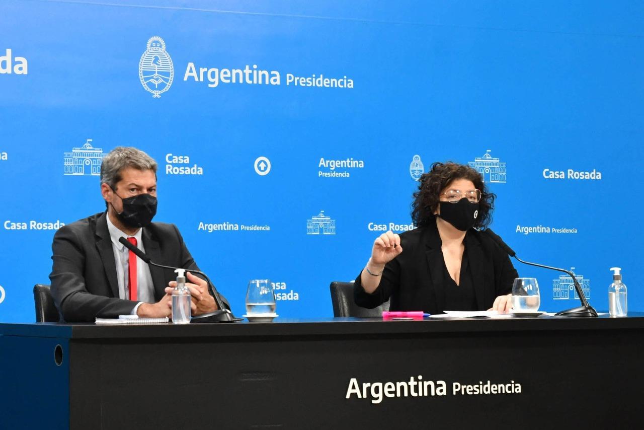 El Gobierno anunció la aplicación de una tercera dosis de vacuna covid-19 para inmunocomprometidos y para mayores de 50 años con sinopharm   Argentina.gob.ar