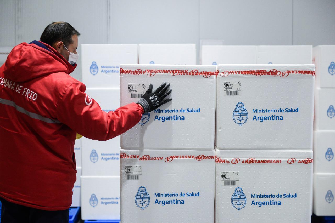Nueva distribución de vacunas a todo el país: más de 470 mil dosis del  componente 1 de Sputnik V llegan a las 24 jurisdicciones | Argentina.gob.ar