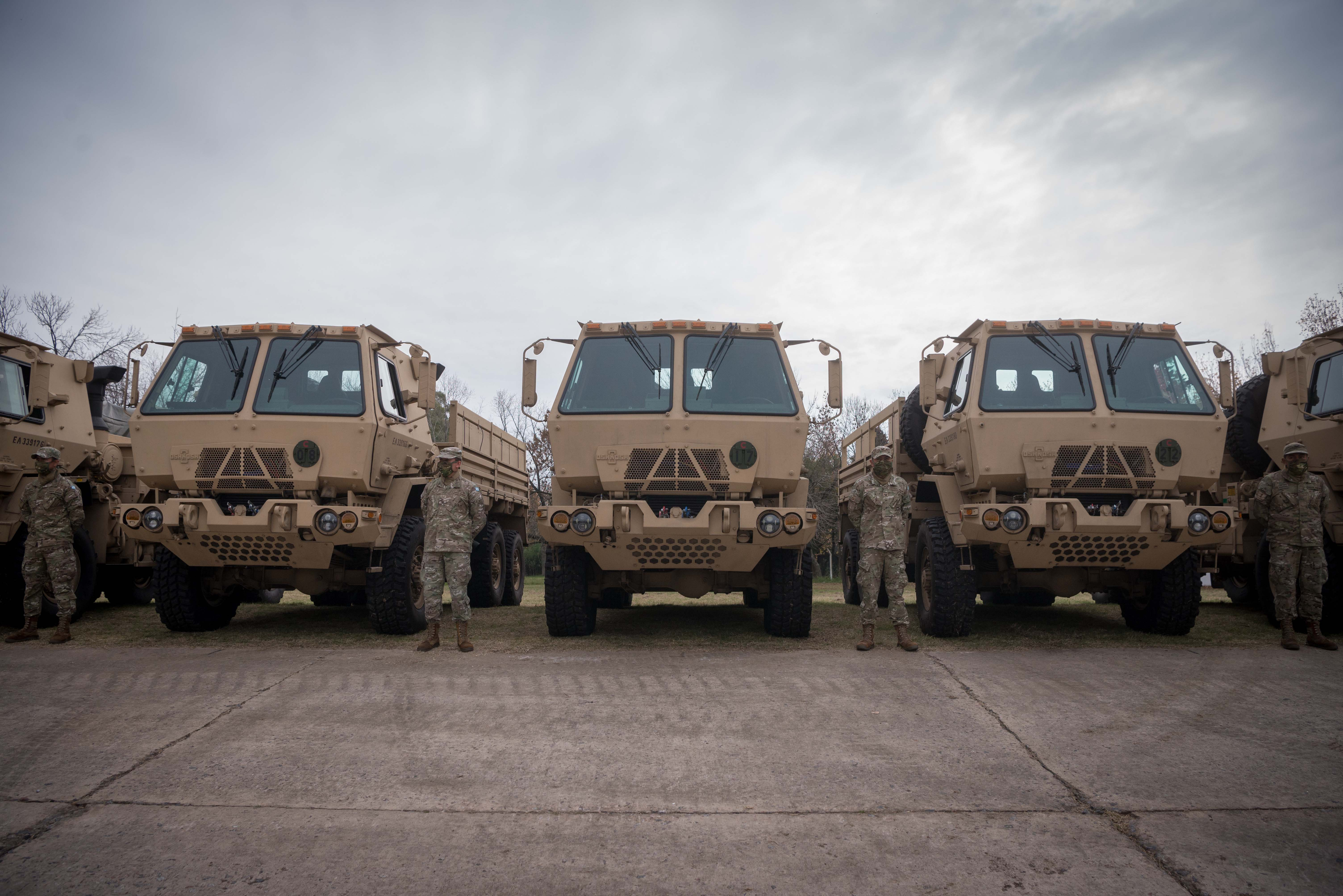 Camiones militarizados Osh-Kosh 6x6