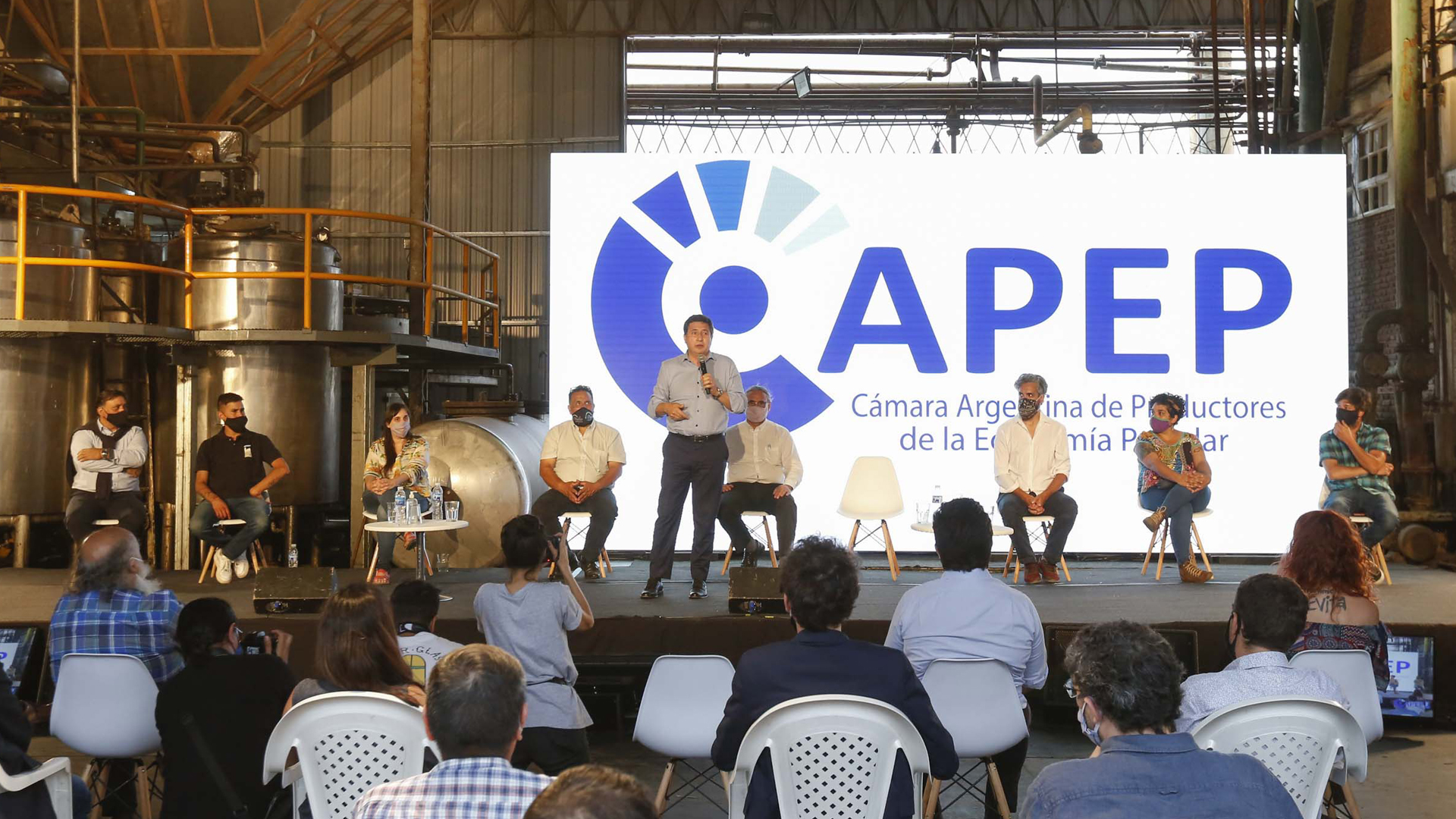 Se lanzó la Cámara Argentina de Productores de la Economía Popular