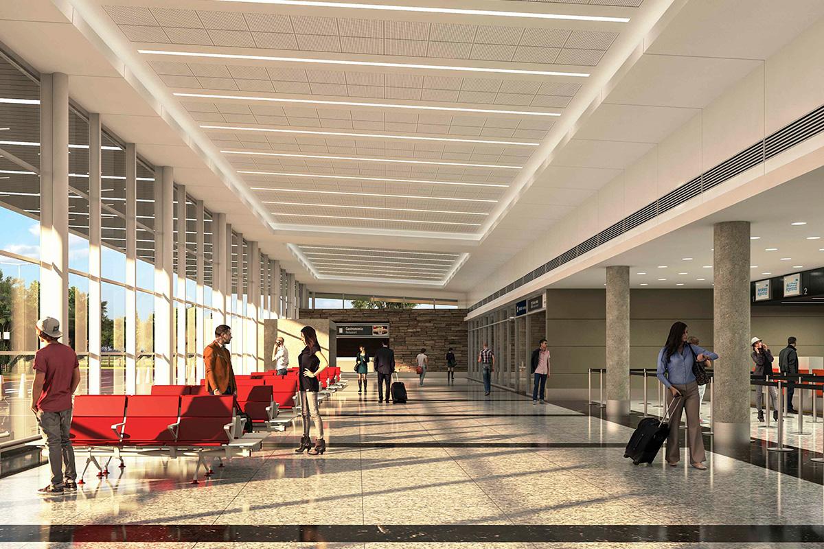 Una nueva terminal de pasajeros para el aeropuerto de La Rioja