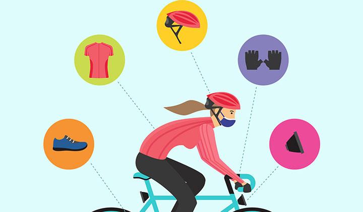 Elementos que tenés que tener si vas a andar en bicicleta