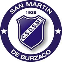 Escudo del Club San Martín de Burzaco