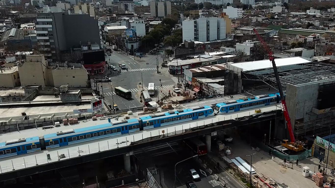 Resultado de imagen para nueva estación elevada Sáenz