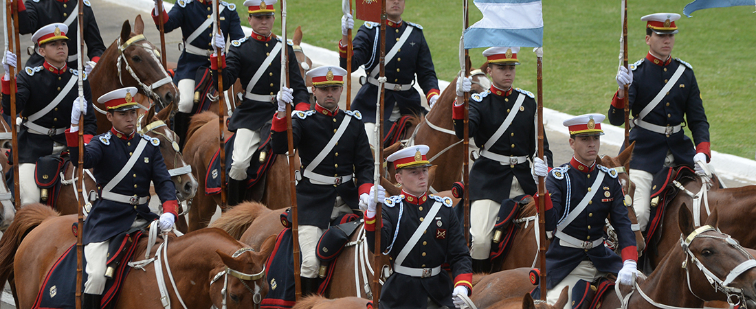 Cadetes del Colegio Militar de la Nacion