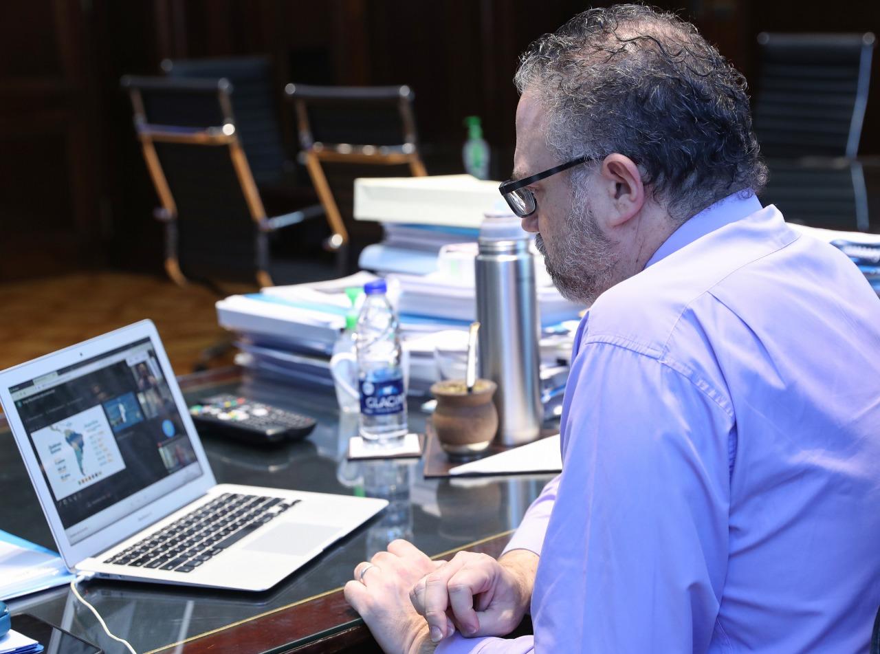 Cencosud le presentó al ministro Kulfas su plan de inversión en Argentina