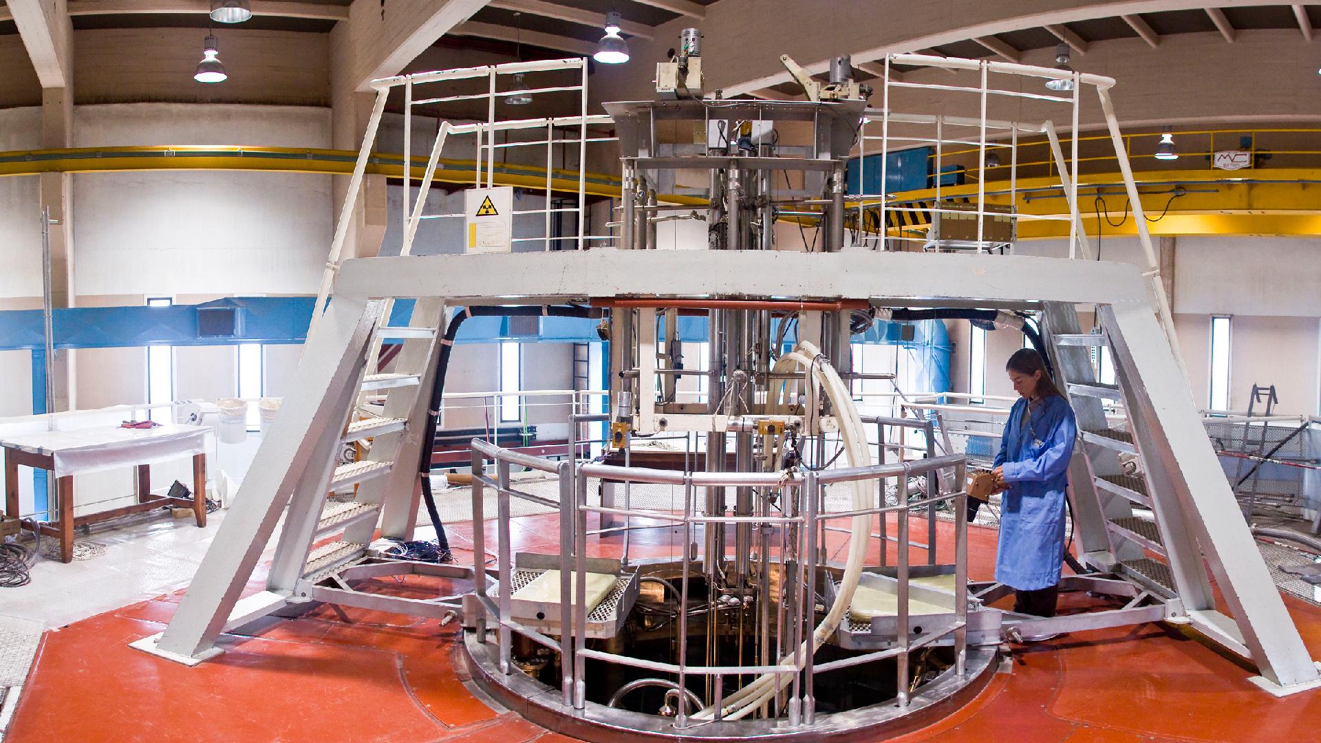 Control radiológico del reactor de investigación RA-6
