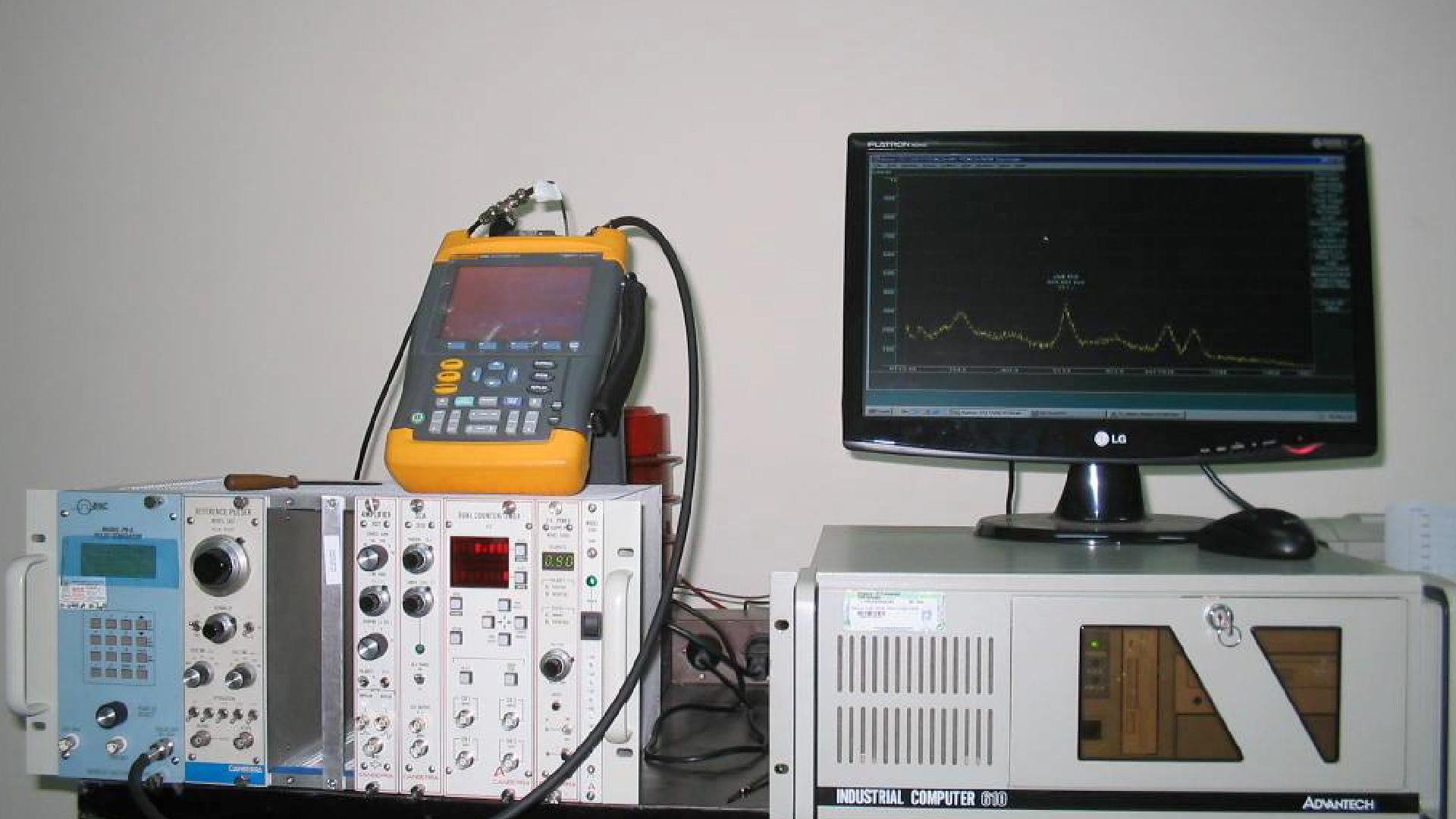 Sistema de espectrometría que se utiliza para conocer los elementos químicos que componen una muestra