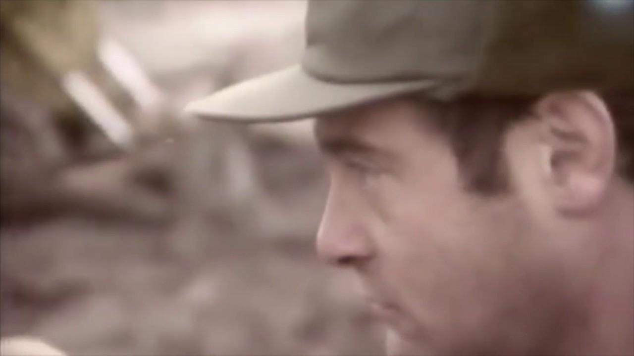 """Comodoro """"VGM"""" (R) Héctor Manuel Rusticcini durante el Conflicto del Atlático Sur"""