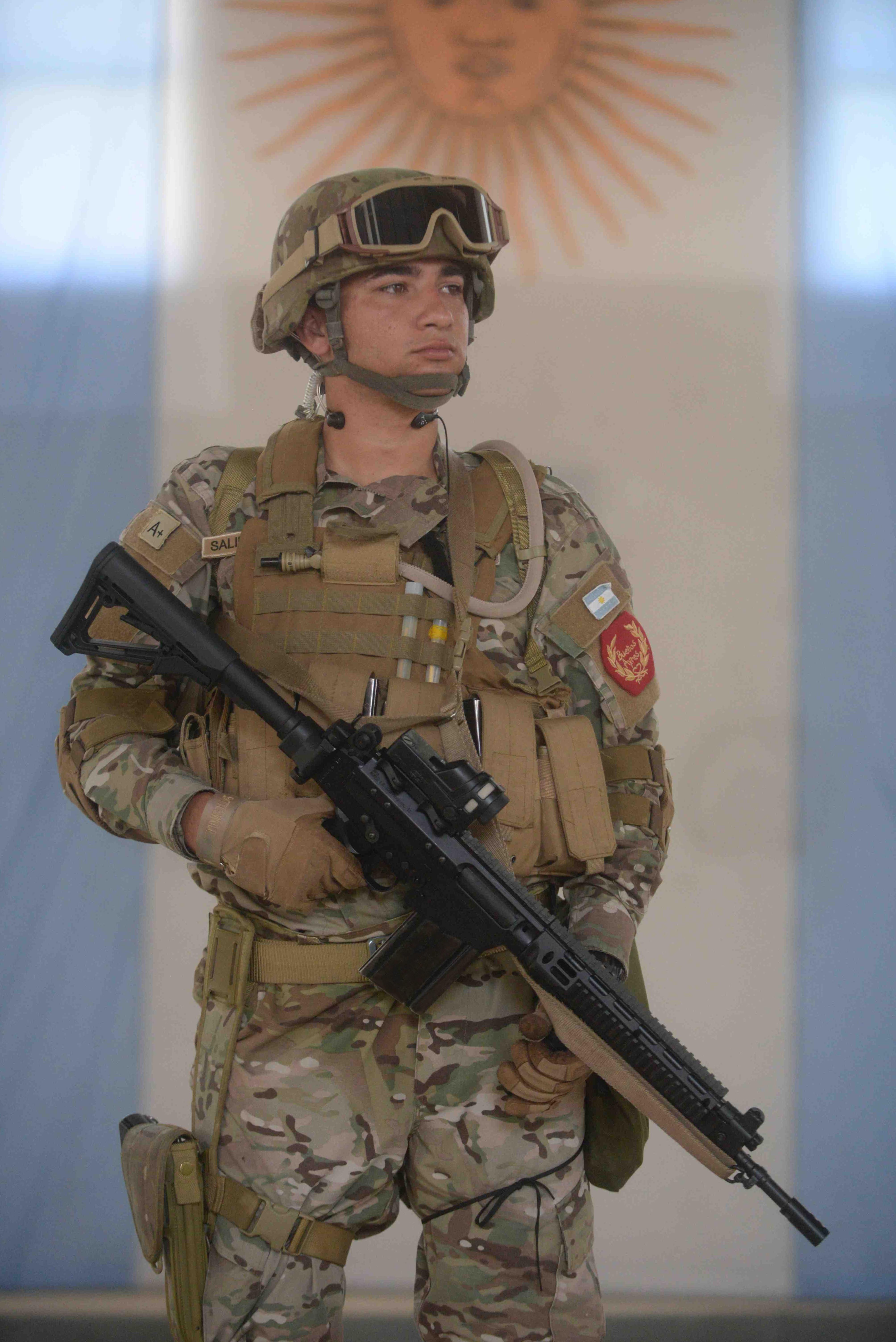 El nuevo FAL permitirá dotar al soldado argentino de un arma adecuada para enfrentar los desafíos del combate moderno.