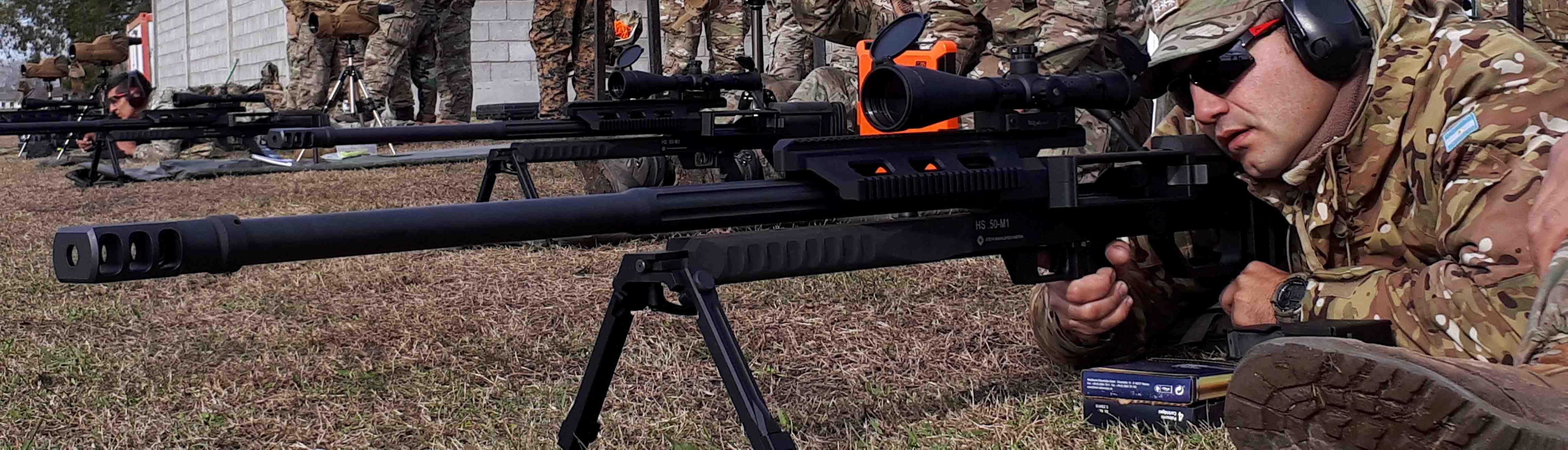 Francotiradores del Ejército Argentino realizan un entrenamiento en Misiones