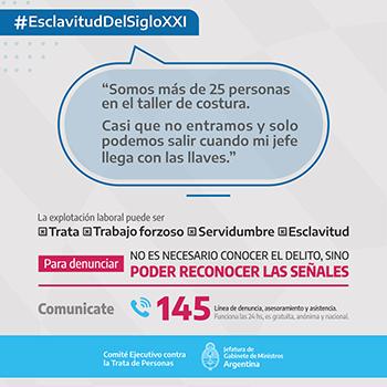 #EsclavituddelsigloXXI-Urbano