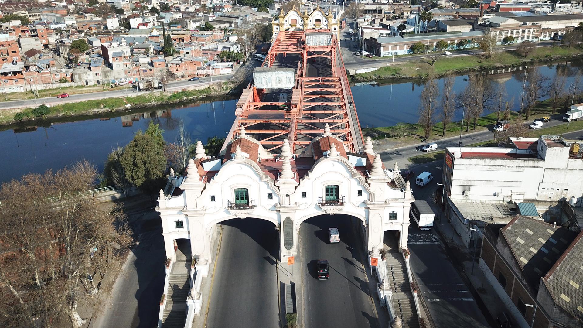 Resultado de imagen para Finalizaron obras de rehabilitación del Puente Alsina