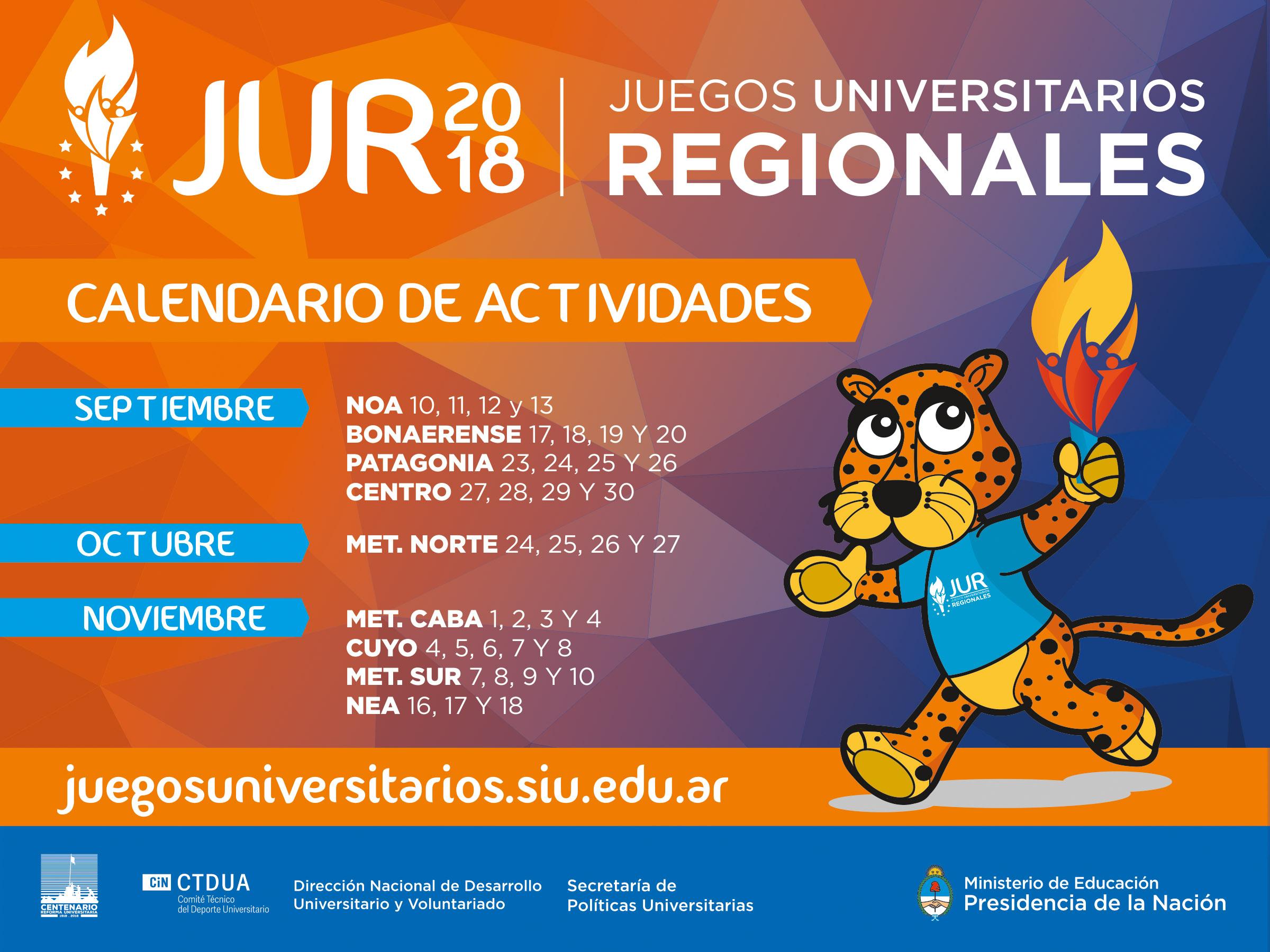 Empiezan Los Juegos Universitarios Regionales 2018 Argentina Gob Ar
