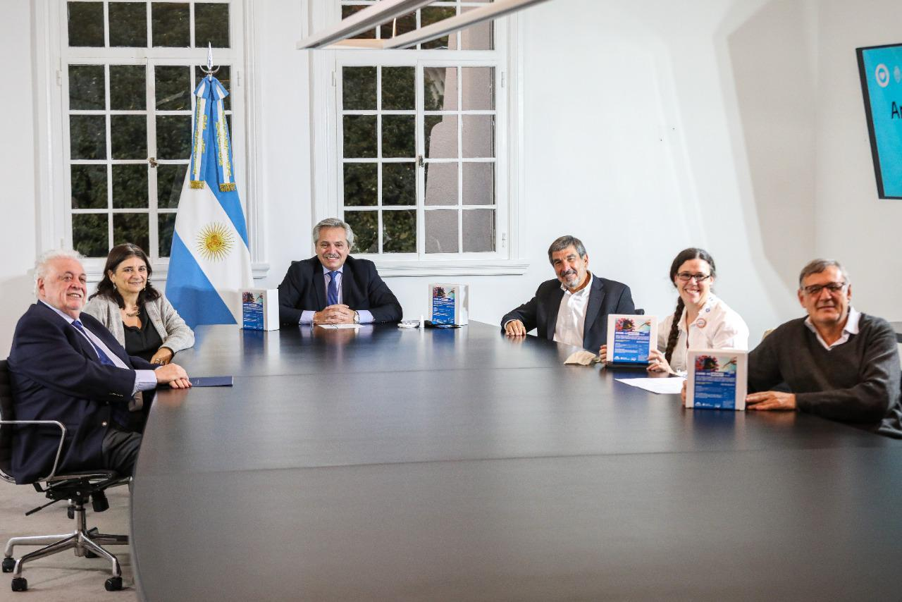 El presidente Alberto Fernández anunció el desarrollo y la ...