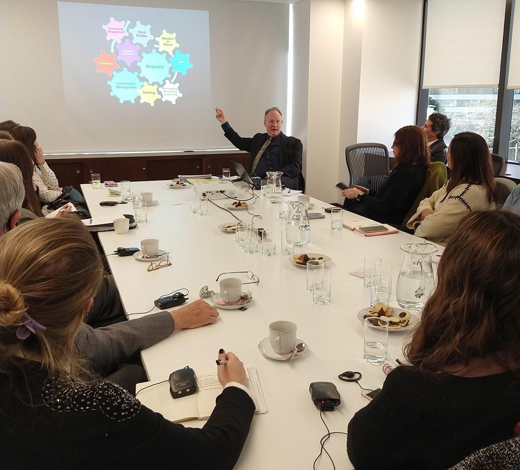 Intercambio de experiencias con Andrew Ecclestone