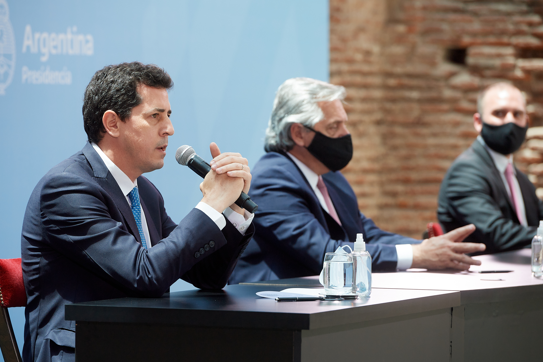 """Wado De Pedro: """"esta es la vocación al dialogo y a la unidad"""""""