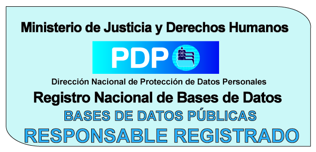 registrado en base de datos públicos