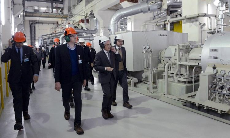 El jefe de Gabinete Marcos Peña destacó la importancia del Complejo Nuclear Atucha para el sistema energético nacional.