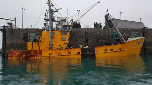 Prefectura detectó un buque en infracción cargado con 29 toneladas ...