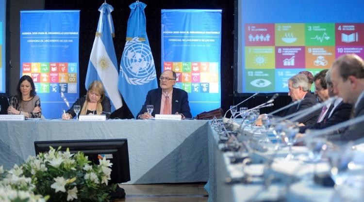 Presentaron en nuestro país la Agenda Mundial del Desarrollo Sostenible para el 2030