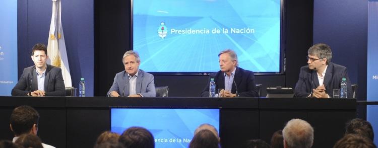 El ministro Andrés Ibarra presentó el portal de datos de Energía y Minería
