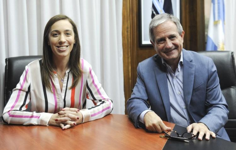 María Eugenia Vidal y Andrés Ibarra firmaron un acuerdo de modernización entre la provincia y el Ministerio de Modernización