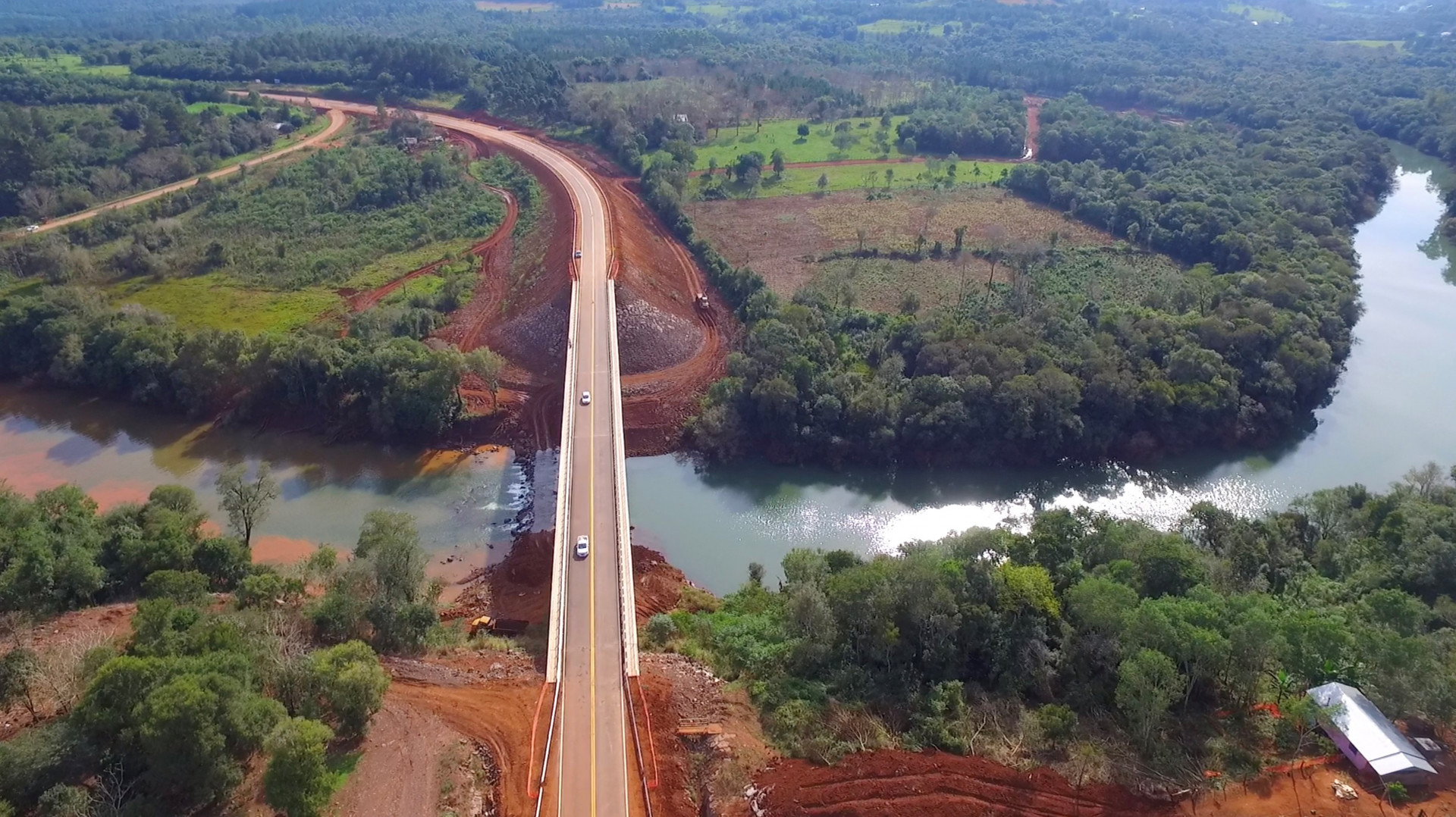 Resultado de imagen para Misiones: concluyó la construcción del puente sobre el arroyo Torto