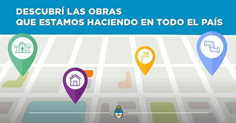Mapa de obras del ministerio del interior obras p blicas for Ministerio del interior ubicacion mapa