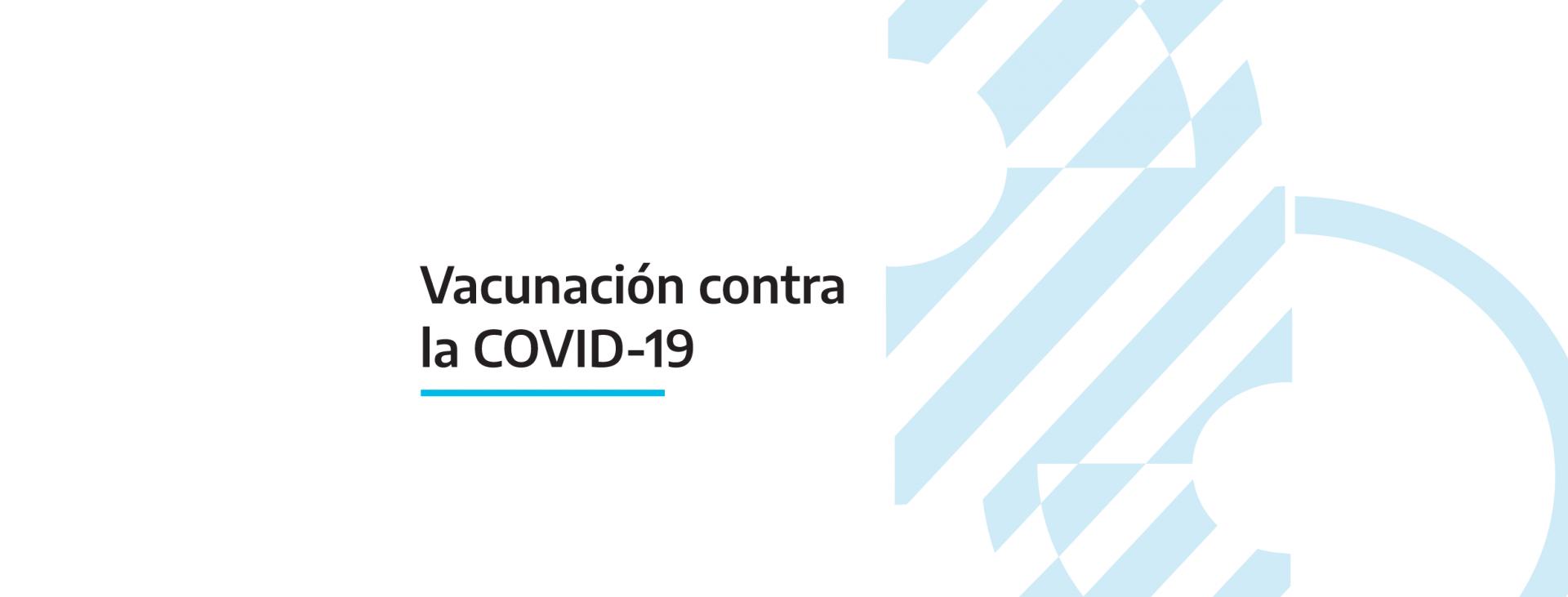 Se incorporan las personas con discapacidad dentro de la población objetivo a vacunar contra la Covid 19