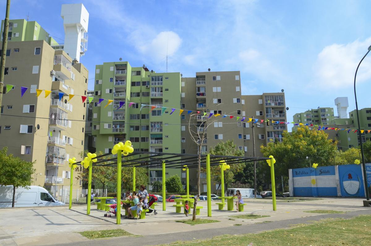 Rehabilitación de Conjuntos Habitacionales