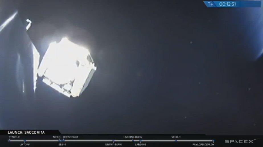 SAOCOM 1A y SAOCOM 1B - Satélites hechos en Argentina - Página 2 Saocom1a_deployment_spacextwitter