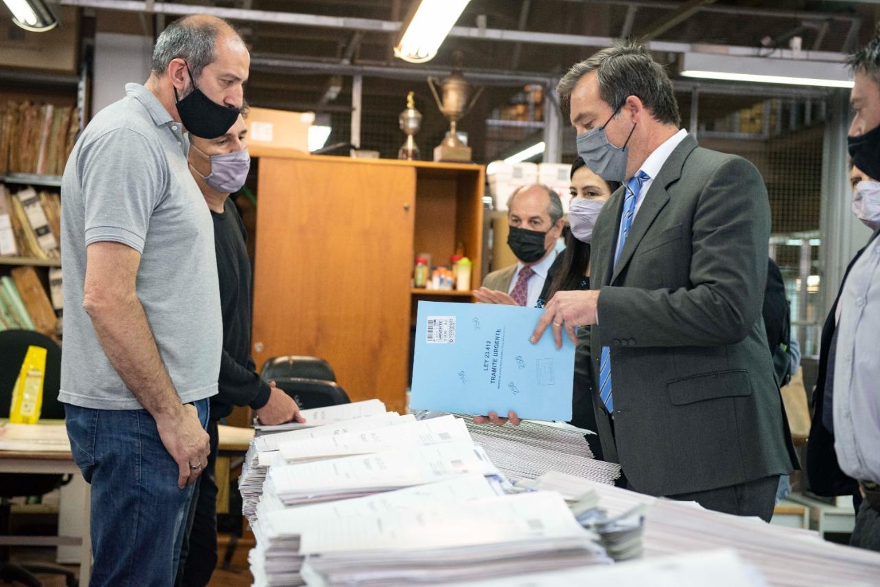 Soria inauguró el nuevo Sistema de Presentación Digital de Documentos Registrales