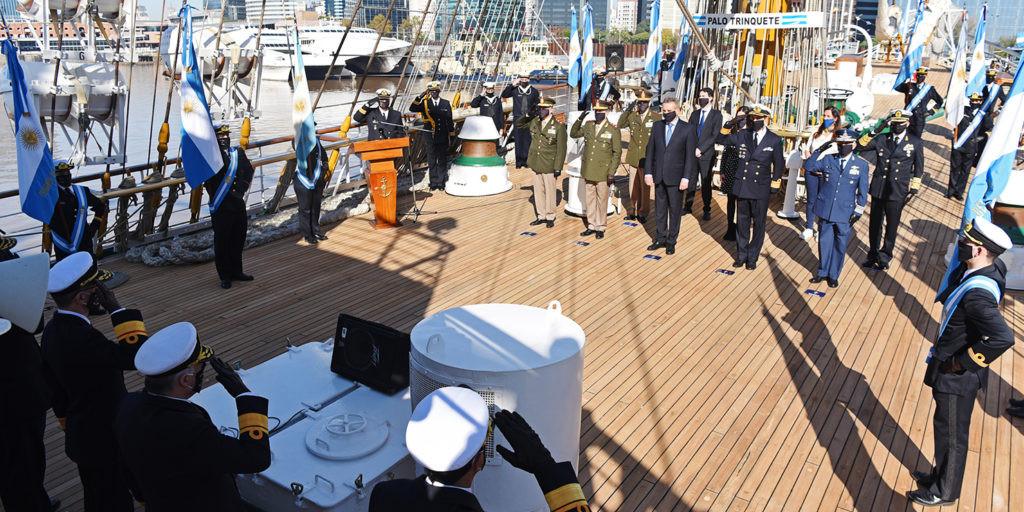 NecocheaNet - Ceremonia central por el Día de la Armada Argentina