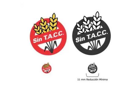 símbolos de alimentos libres de TACC