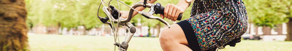 Pasear en bicicleta es un excelente ejercicio