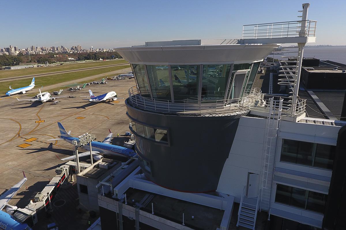 Nueva torre de control en Aeroparque
