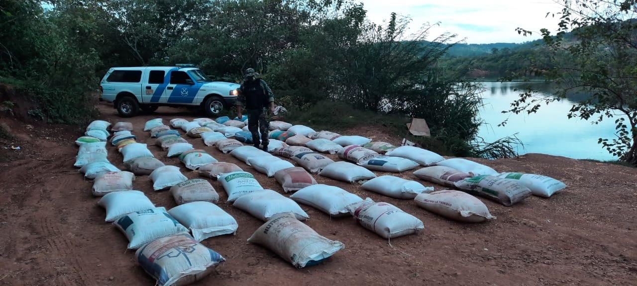 En los primeros 6 meses del año, las Fuerzas Federales incautaron más de 5 millones de kilos de granos de contrabando